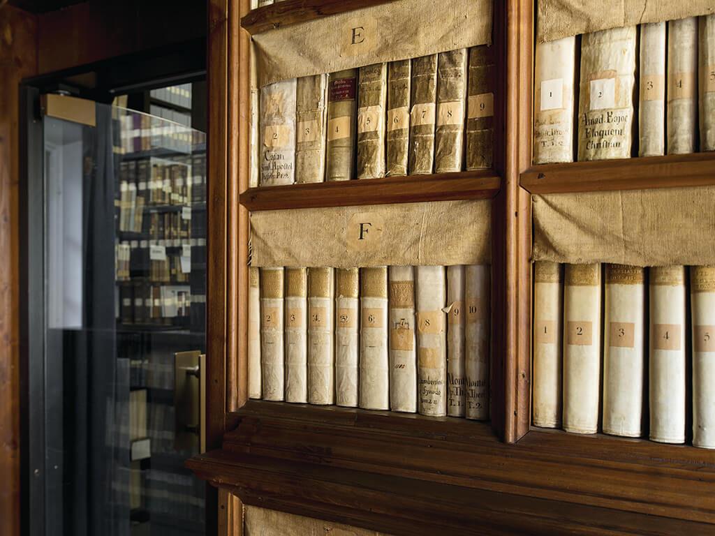 La Biblioteca del Convento del Bigorio: catalogazione e valorizzazione digitale